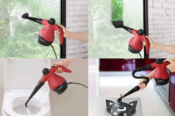 Certa 900W Handheld Steam Cleaner Kit