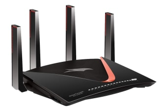 Netgear Nighthawk Pro Gaming WiFi Router AD7200 Dual-Band Quad Stream with Geo Filter, QoS & Gaming VPN (XR700)