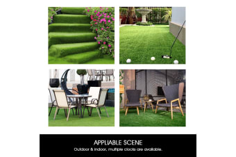 Artificial Carpet Fake Grass Synthetic Thick Lawn 20SQM-27mm
