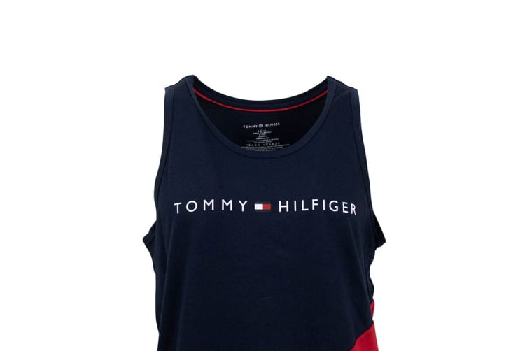 Tommy Hilfiger Men's Modern Essentials Tank Top (Mahogany, Size L)