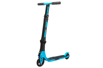 Go Skitz Tour Folding Scooter with Backpack Sky Blue