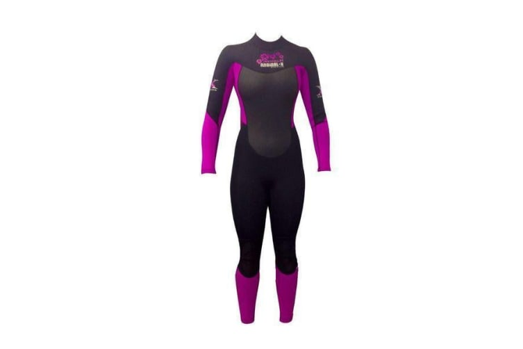 Adrenalin Radical-X Super Stretch Long Sleeve Steamer Lady Wetsuit 14 (Pink)
