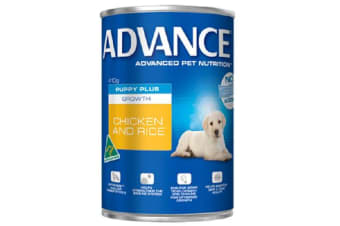 Advance Puppy Growth Chicken Rice Cans - 12cans