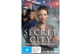 Secret City Season 1 DVD Region 4