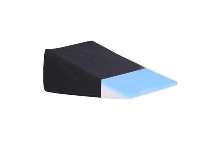 Cool Gel Memory Foam Bed Wedge Pillow Cushion M-Size