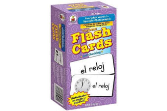 Everyday Words in Spanish: Photographic Flash Cards - Palabras de Todos Los D�as: Fotogr�fico