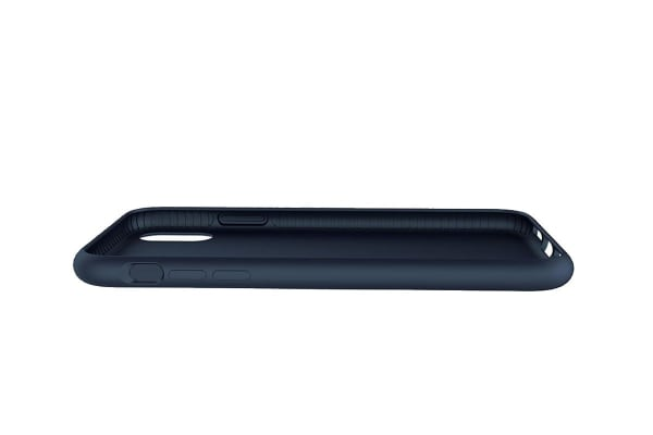 Cygnett Skin Soft Feel Case for iPhone Xs & X - Navy (CY2608CPSKI)