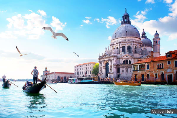 ​EUROPE:​ ​30 ​Day​ Europe Encompassed ​Tour with Eastern Mediterranean Cruise​​ ​Including Flights ​for​ ​Two (Oceanview Cabin)