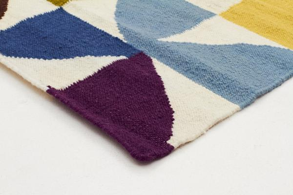 Flat Weave Fun Multi Coloured Rug 300x80cm