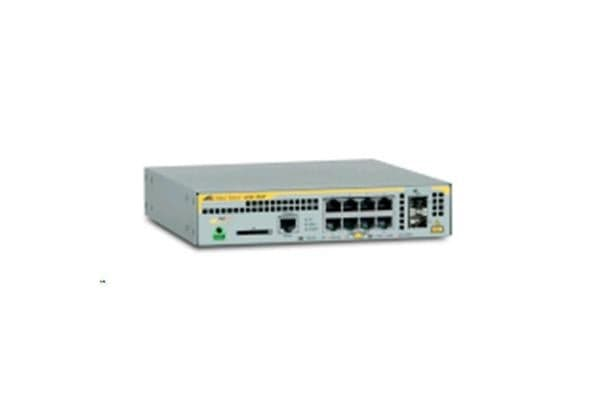 Allied Telesis L2+ Switch with 8x 10/100/1000T POE Ports