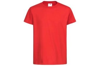 Stedman Childrens/Kids Classic Tee (Scarlet Red) (XS)
