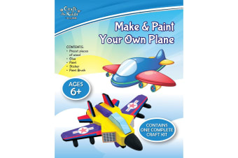 Make And Paint Your Own Plane