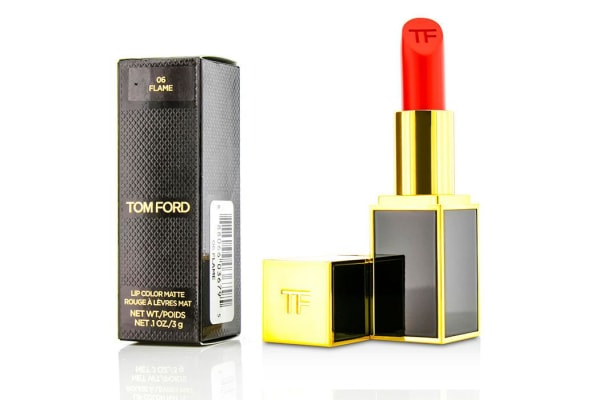 Tom Ford Lip Color Matte - #06 Flame (3g/0.1oz)