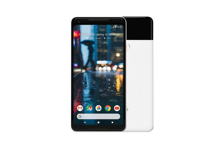 Google Pixel 2 XL 128GB Black & White - Refurbished Fair Grade