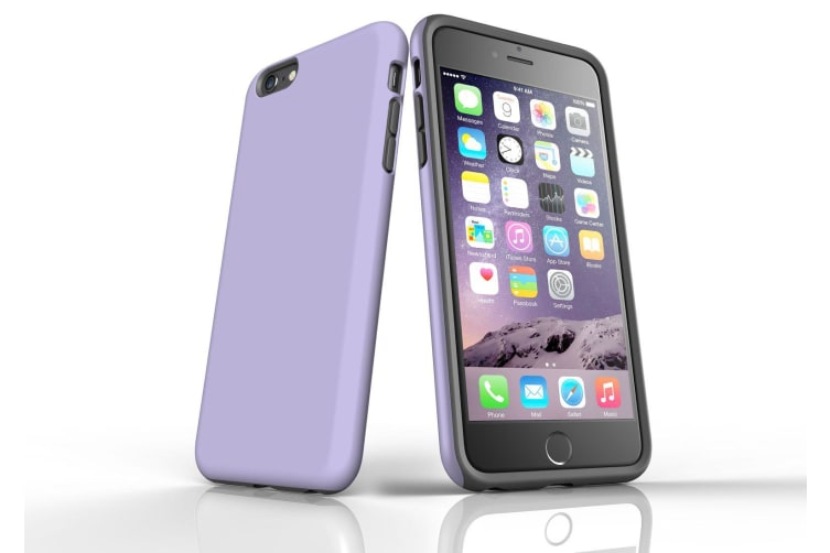 Lavender For iPhone 6S Plus Tough Case  Protective Back Cover