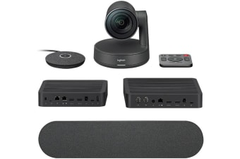 LOGITECH Rally Ultra-HD ConferenceCam System, includes Rally Camera, 1x Mic, 1x