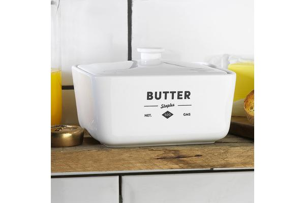 Ecology Staples Foundry Butter Dish