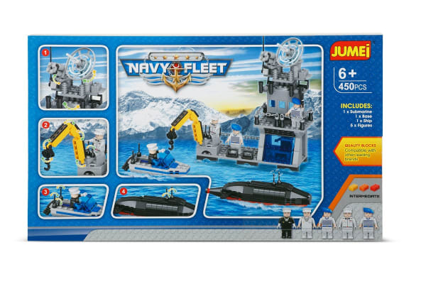 Jumei Building Blocks - Navy Fleet (Lego Compatible)
