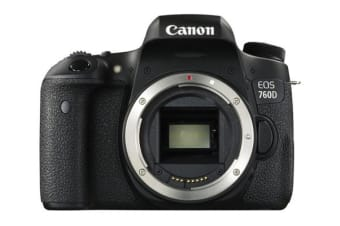 Canon EOS 760D DSLR - Body Only