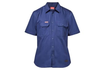 Hard Yakka Men's Legends Short Sleeve Shirt (Navy)