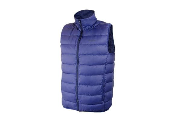Komodo PackLite Men's Down Vest (Navy, X-Large)