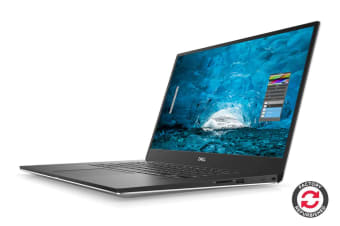 "Dell XPS 15 9570 15.6"" 4K Touch Screen Laptop (i7-8750H, GTX 1050 Ti, 16GB RAM, 512GB SSD, Silver) - Certified Refurbished"