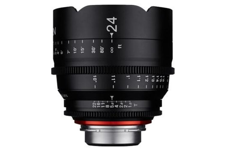 New Samyang Xeen 24mm T1.5 Lens for PL Mount (FREE DELIVERY + 1 YEAR AU WARRANTY)