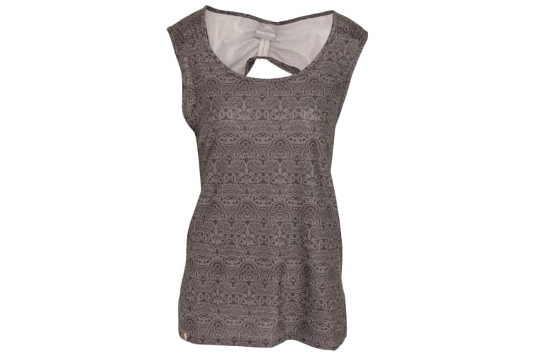 Trespass Womens/Ladies Ono Adventure Sleeveless Vest Top With Round Neck (Herb Print) (M)
