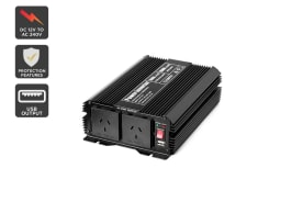 Certa Power Inverter Modified Sine Wave 1000W / 2000W 12V-240V