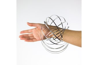 Kinetic Rings | The Spiralling Magic Metal Coil Toy! | Ages 8+