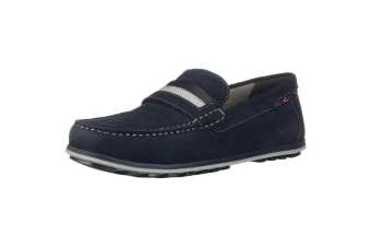 Geox Mens Mirvin Slip-On Shoes/Loafers (Navy)