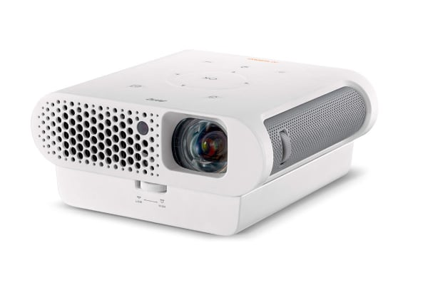 Dick smith benq 720p portable outdoor led projector gs1 projectors for Exterior 400 image projector price