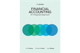 Financial Accounting - An Integrated Approach with Online Study Tools 12 months
