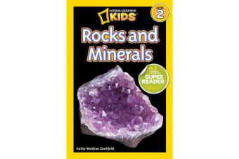 National Geographic Kids Readers - Rocks and Minerals