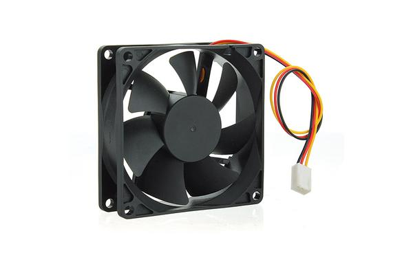 80mm Silent Case Fan - Keeps case and component cool. Molex Connector. Bulk Pack. No Screw included.