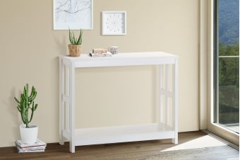 Shangri-La Console Table - Brighton Collection (White)