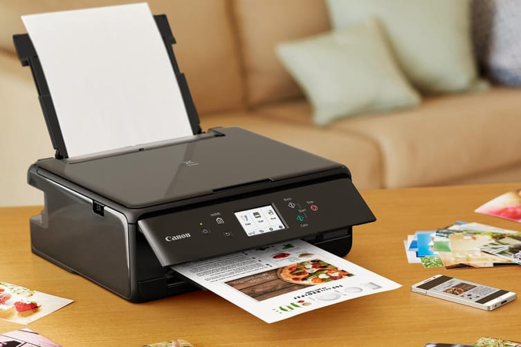 Canon PIXMA Home All-In-One Printer - Black (TS6260)