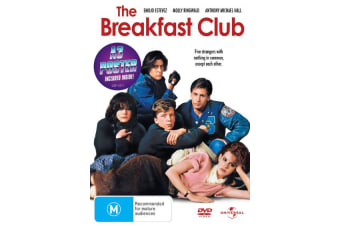 The Breakfast Club DVD Region 4