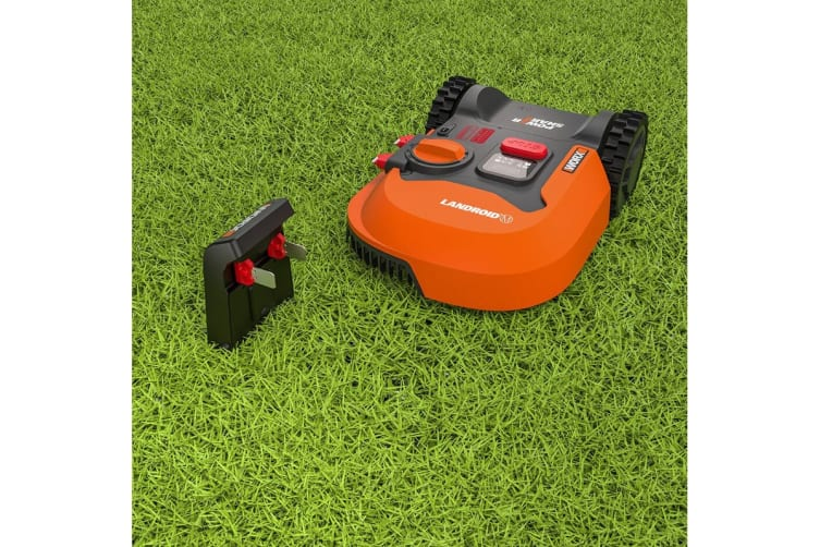 WORX 20V Landroid Robotic Lawn Mower with Cut to Edge Technology - 1000m2 (WR140E)