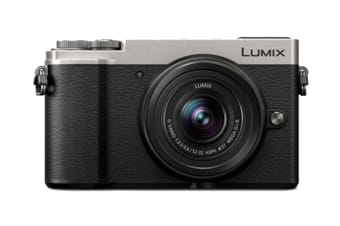 Panasonic Lumix GX9 with 12-32mm f/3.5-5.6 Lens (Silver)