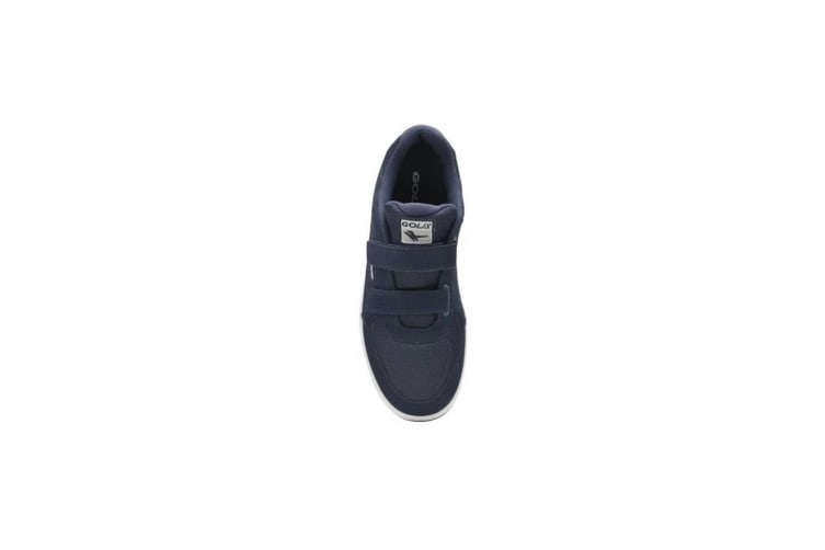 Gola Mens Belmont Suede Wide Fit Trainers (Navy) (9 UK)