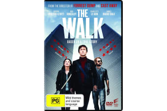 The Walk DVD Region 4