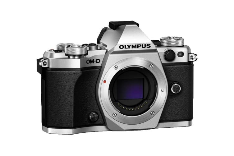 Olympus OM-D E-M5 Mark II Mirrorless Camera Pro Kit with EZ-M1240 Lens - Silver