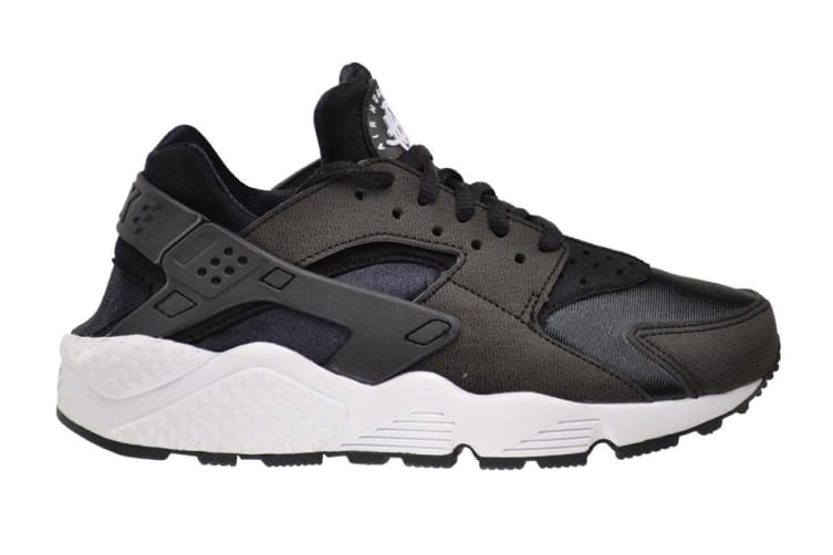 62c6098321b Nike Women's Air Huarache Run Running Shoe (Black/White, Size 6.5)