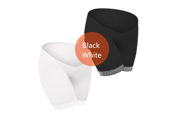 (2 Pack) Pregnant Women Wear Bottompants,Safety Pants To Prevent Low Light Waist Dressing - 1 M