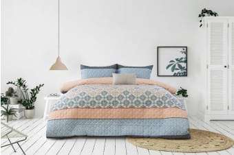 Ardor Boudoir Tribeca Embossed Quilt Cover Set (King)