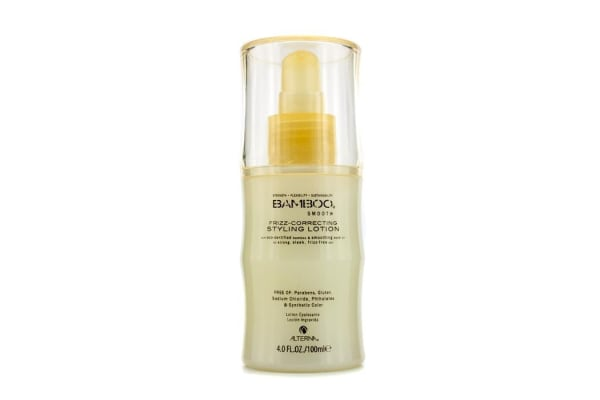Alterna Bamboo Smooth Frizz-Correcting Styling Lotion (For Strong, Sleek, Frizz-Free Hair) (100ml/4oz)