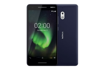 Nokia 2.1 (8GB, Blue/Silver)