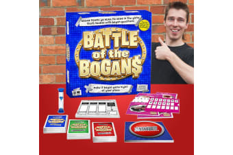 Battle of the Bogans Board Game    How Bogan Are You?