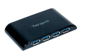 Targus USB 3.0 4-Port Hub Black